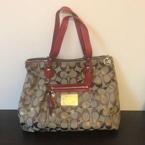 Large coach poppy bag!